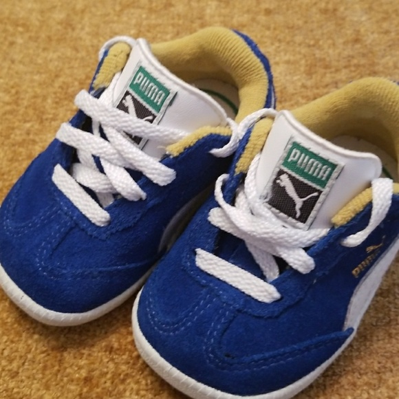 baby puma shoes size 3